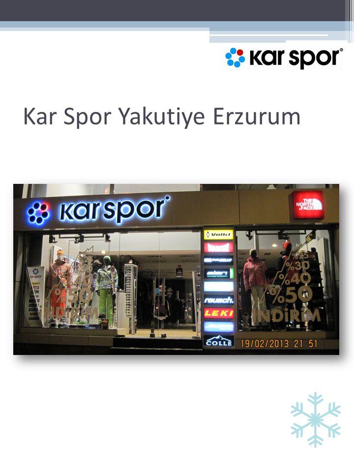 Kar Spor Yakutiye Erzurum