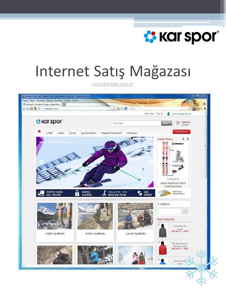 Internet Satış Mağazası www.karspor.com.tr