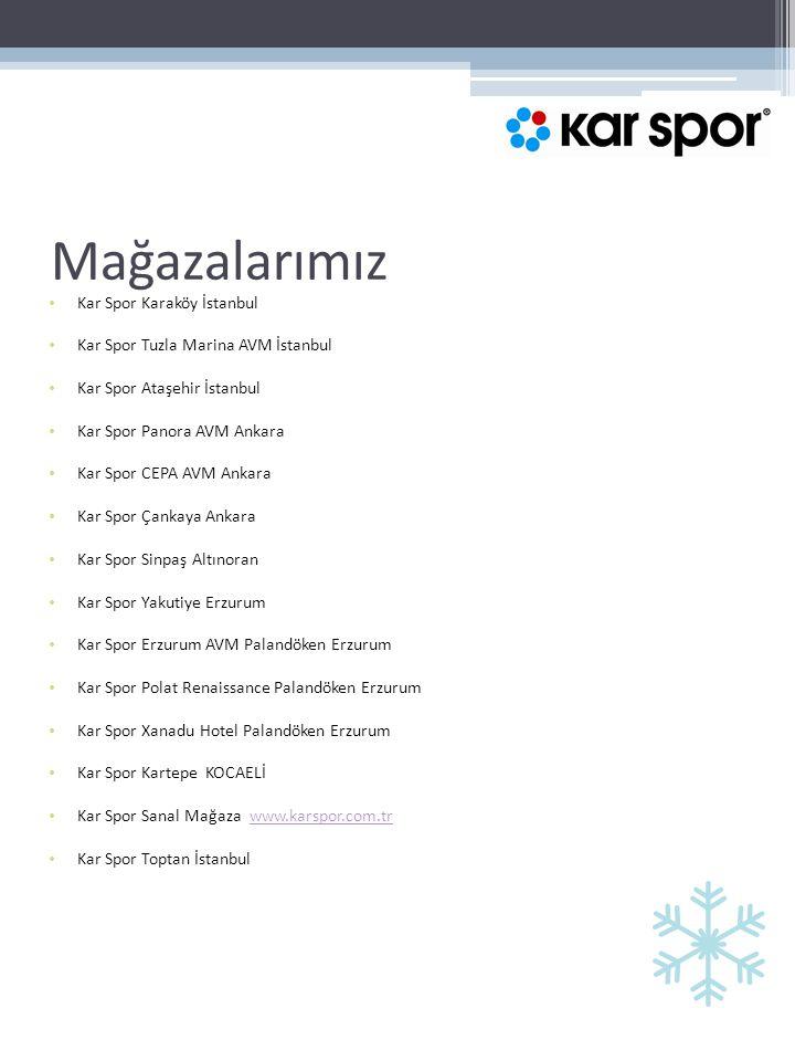 Mağazalarımız Kar Spor Karaköy İstanbul