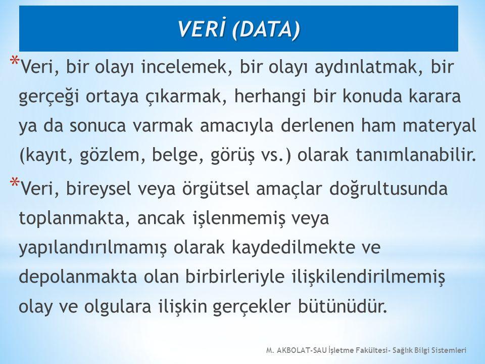 VERİ (DATA)