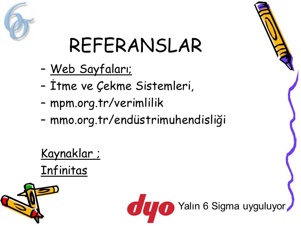 REFERANSLAR Web Sayfaları; İtme ve Çekme Sistemleri,