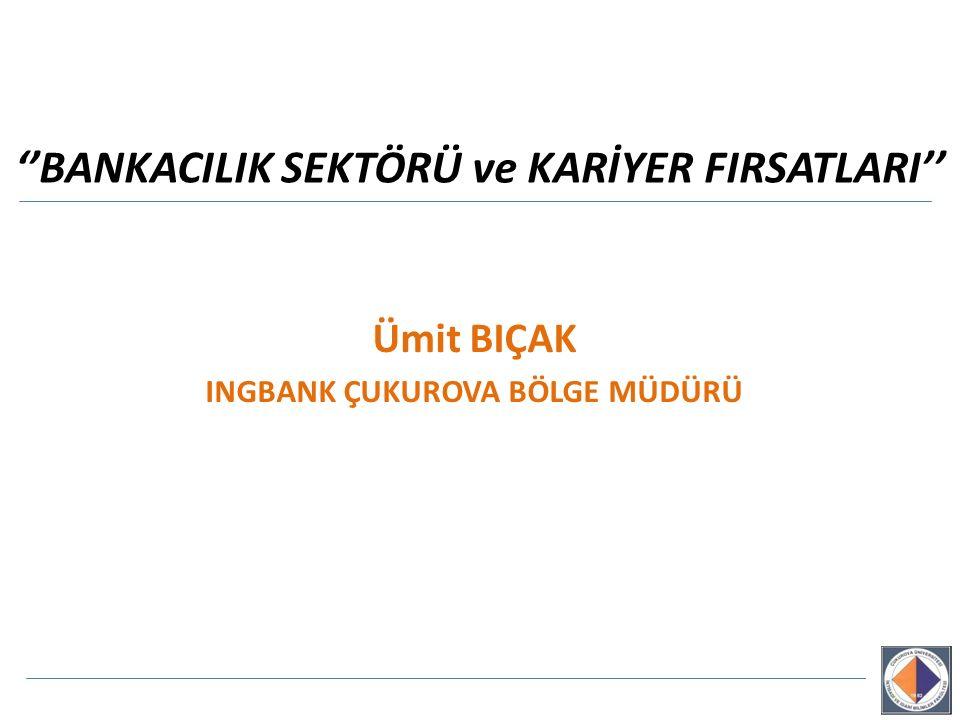 ''BANKACILIK SEKTÖRÜ ve KARİYER FIRSATLARI''