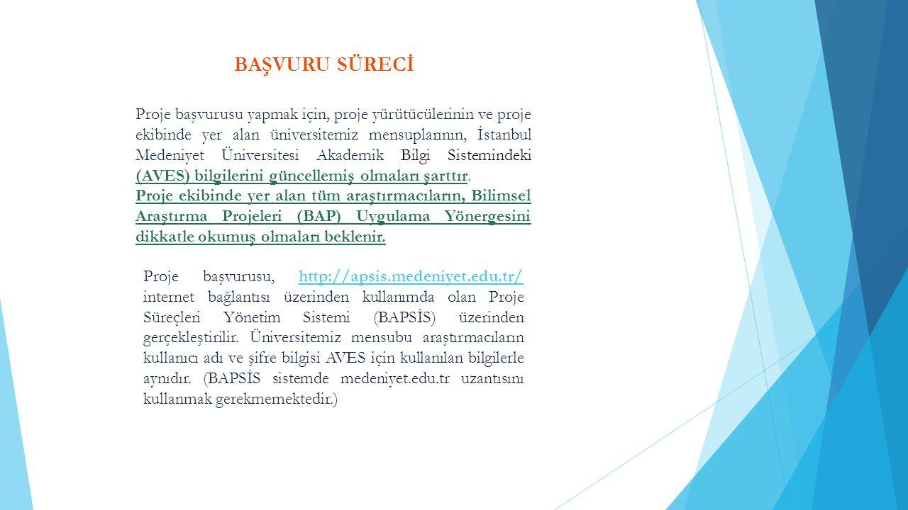 BAŞVURU SÜRECİ