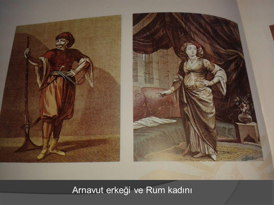 Arnavut erkeği ve Rum kadını
