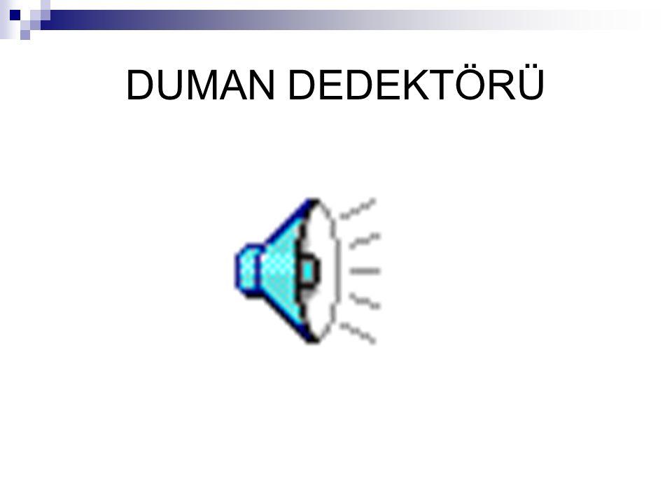 DUMAN DEDEKTÖRÜ