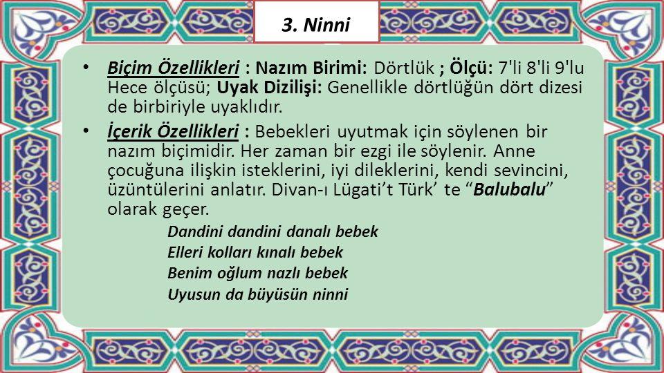 3. Ninni