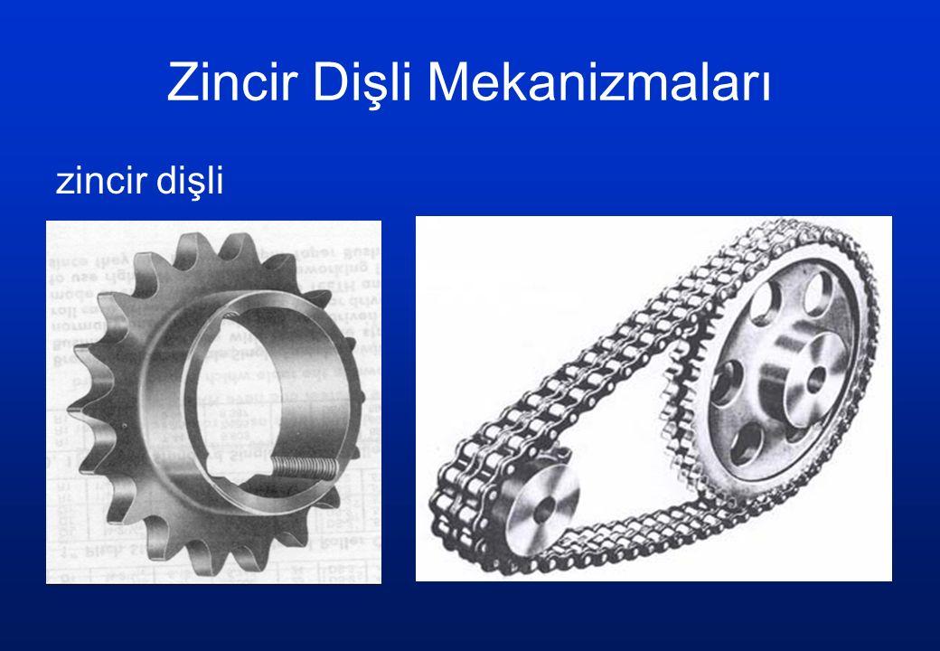 Zincir Dişli Mekanizmaları