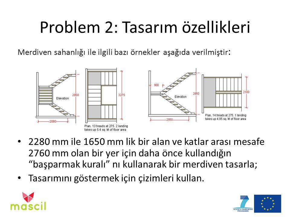 Problem 2: Tasarım özellikleri