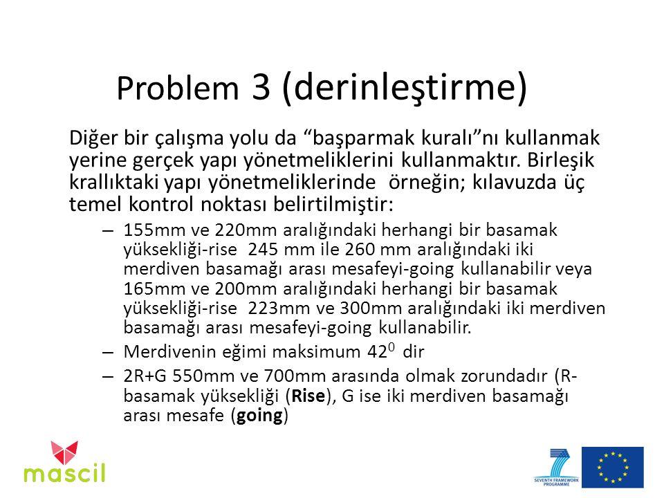 Problem 3 (derinleştirme)