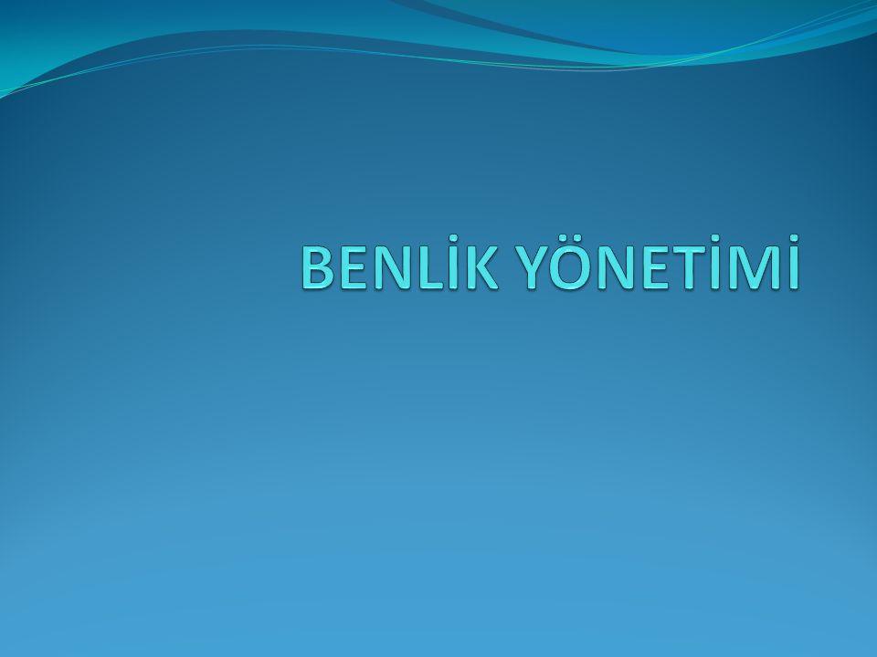 BENLİK YÖNETİMİ