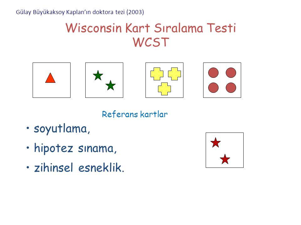 Wisconsin Kart Sıralama Testi WCST