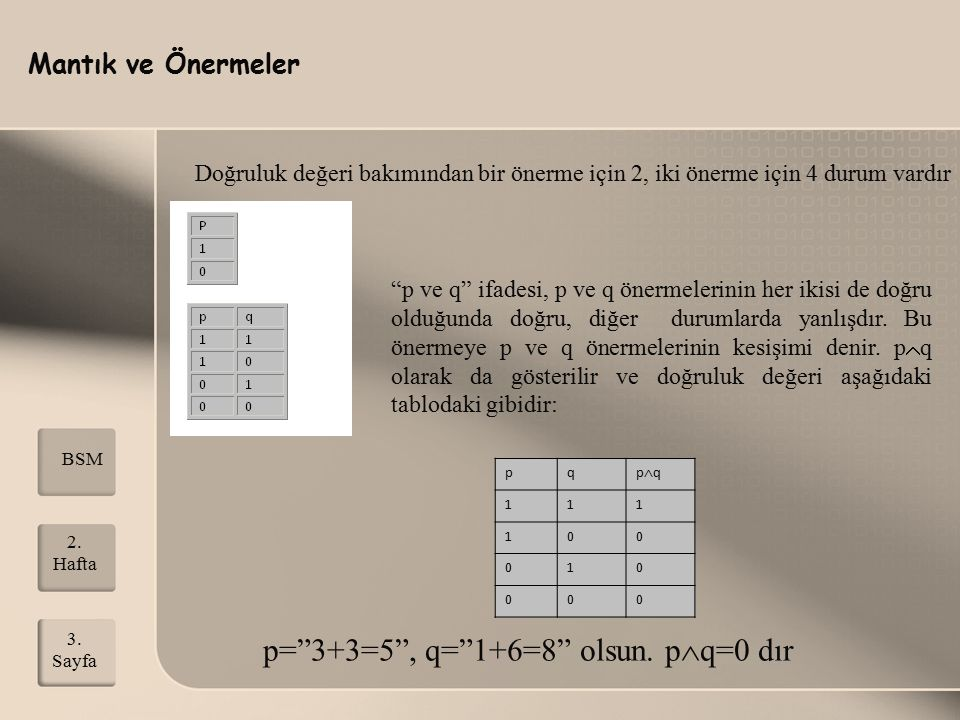 p= 3+3=5 , q= 1+6=8 olsun. pq=0 dır