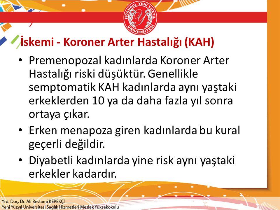 İskemi - Koroner Arter Hastalığı (KAH)