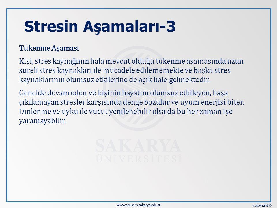 Stresin Aşamaları-3