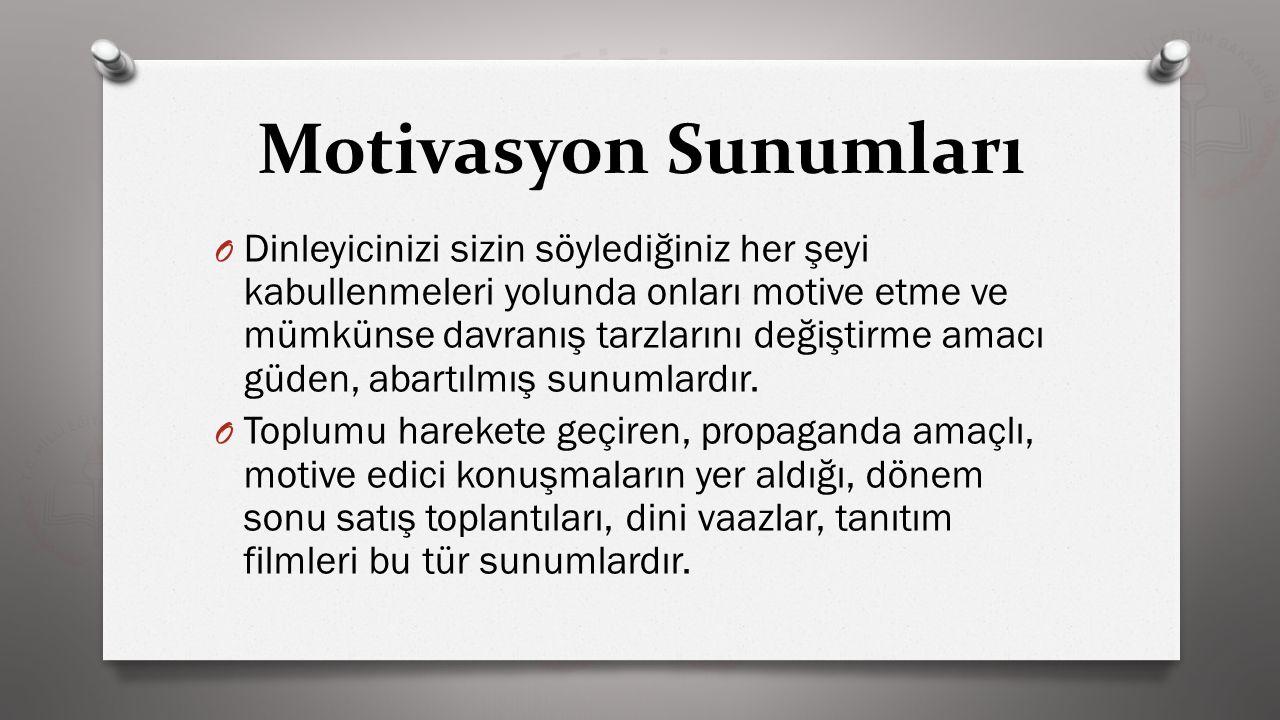 Motivasyon Sunumları