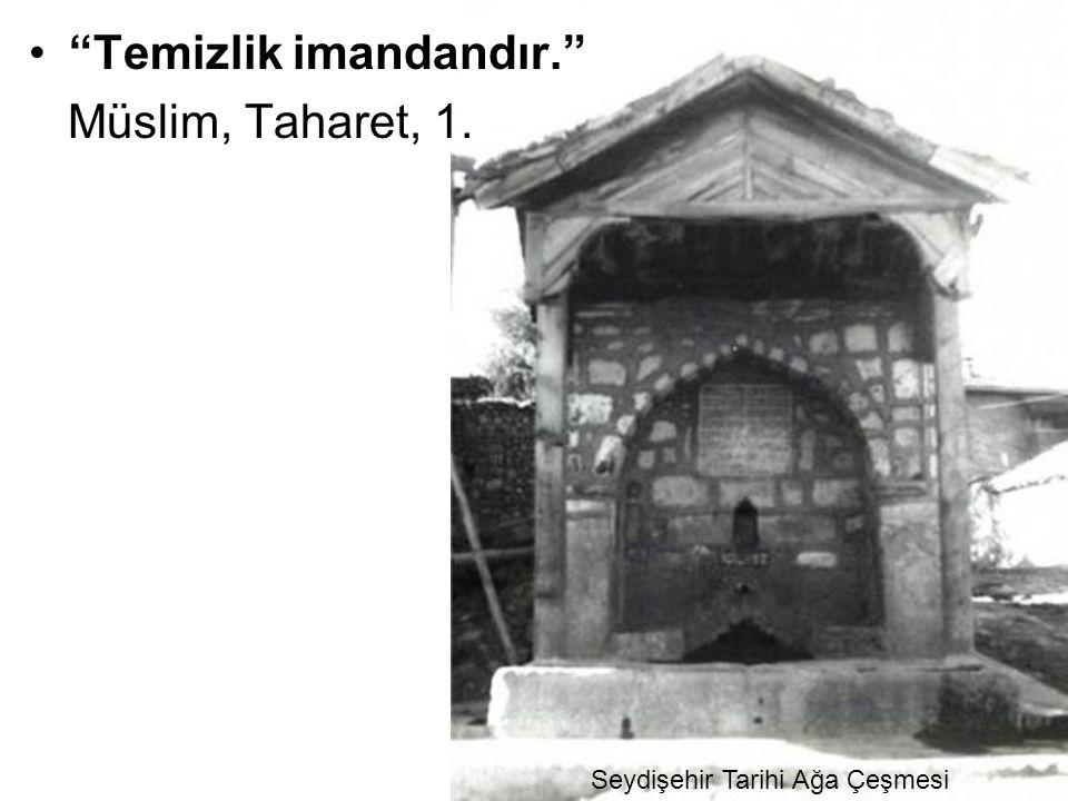 Seydişehir Tarihi Ağa Çeşmesi
