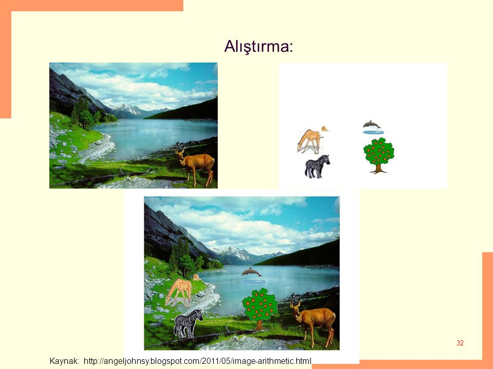 Kaynak: http://angeljohnsy.blogspot.com/2011/05/image-arithmetic.html