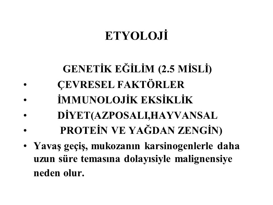 GENETİK EĞİLİM (2.5 MİSLİ)