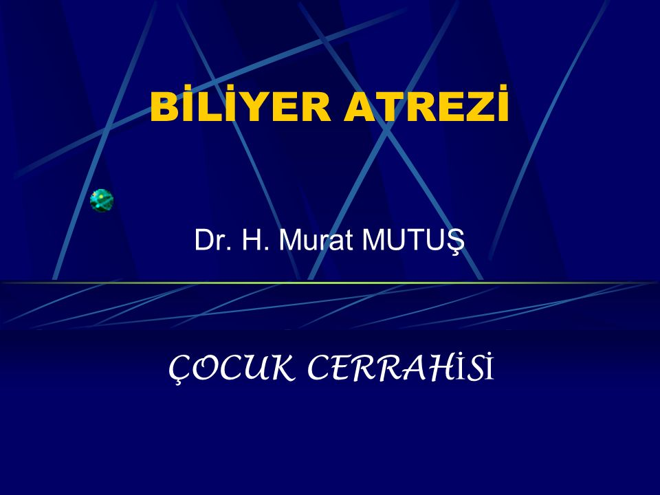 Dr. H. Murat MUTUŞ ÇOCUK CERRAHİSİ