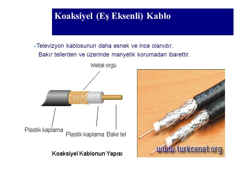 Koaksiyel (Eş Eksenli) Kablo