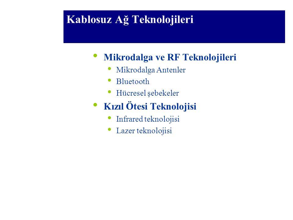 Kablosuz Ağ Teknolojileri
