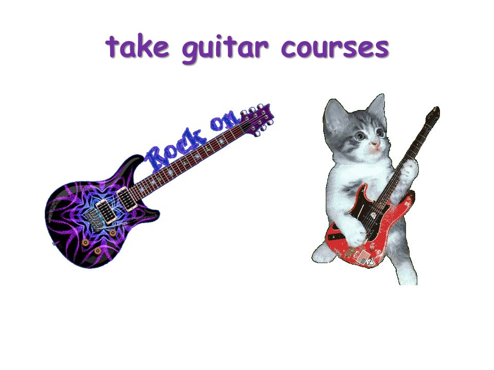 take guitar courses