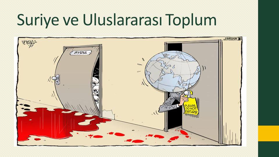 Suriye ve Uluslararası Toplum