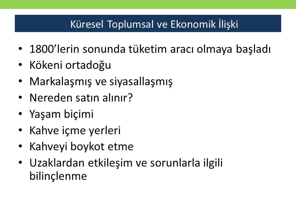 Küresel Toplumsal ve Ekonomik İlişki