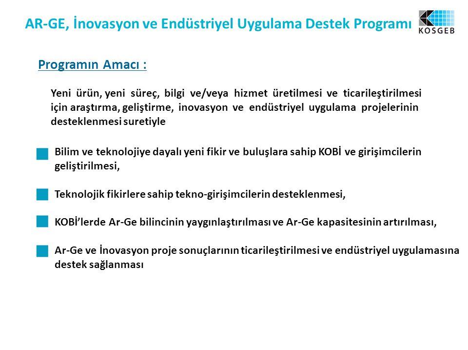 AR-GE, İnovasyon ve Endüstriyel Uygulama Destek Programı
