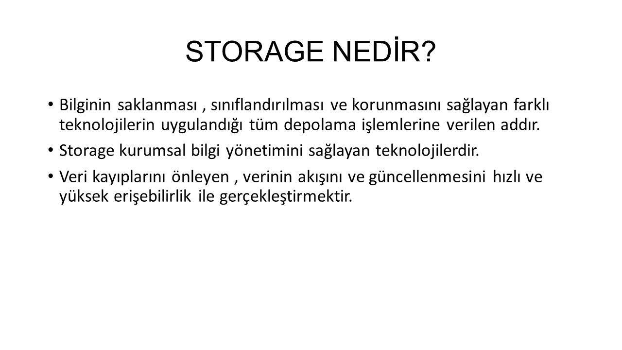 STORAGE NEDİR