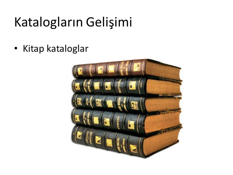 Katalogların Gelişimi