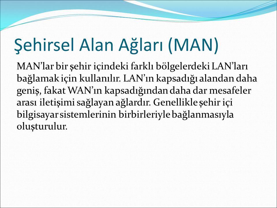 Şehirsel Alan Ağları (MAN)