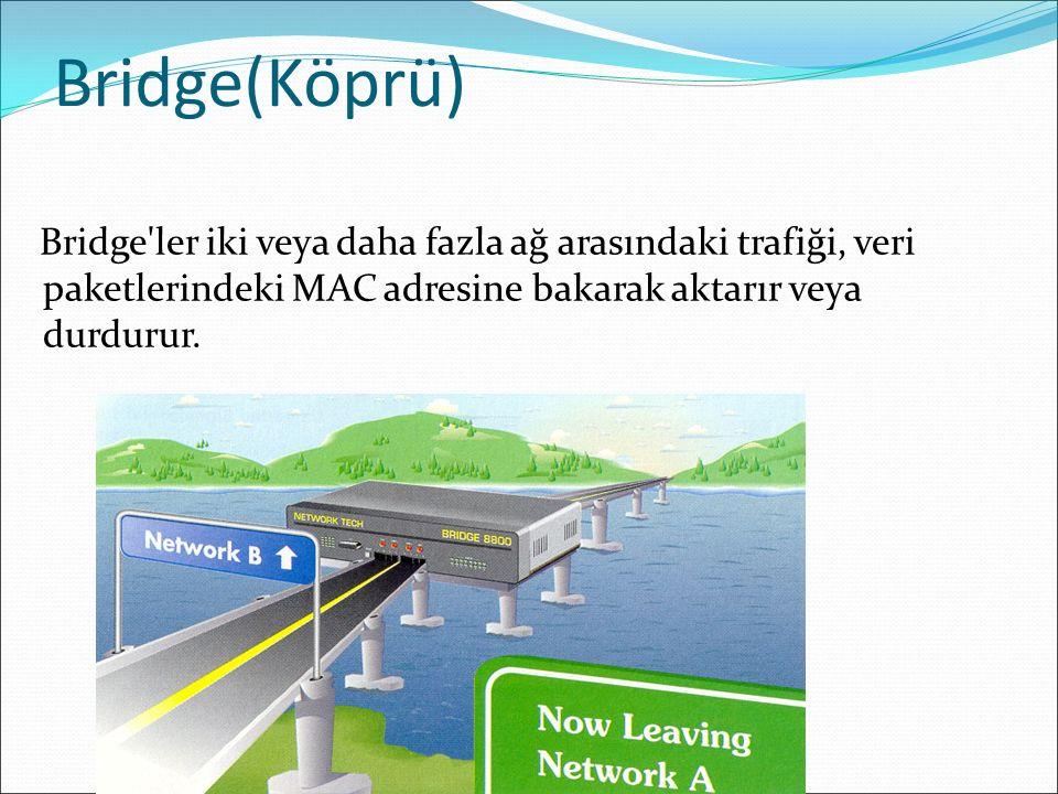 Bridge(Köprü)