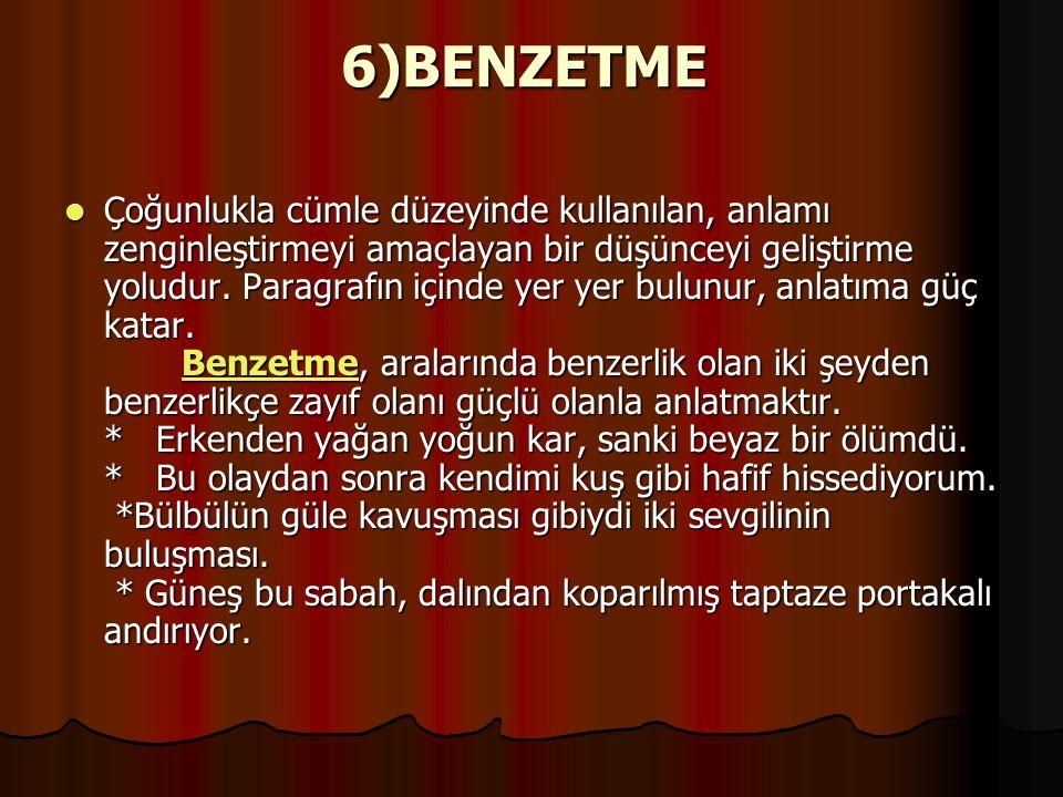 6)BENZETME