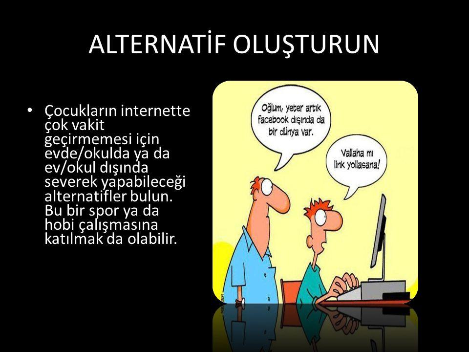 ALTERNATİF OLUŞTURUN