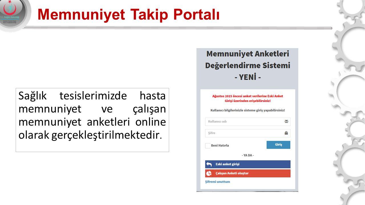 Memnuniyet Takip Portalı