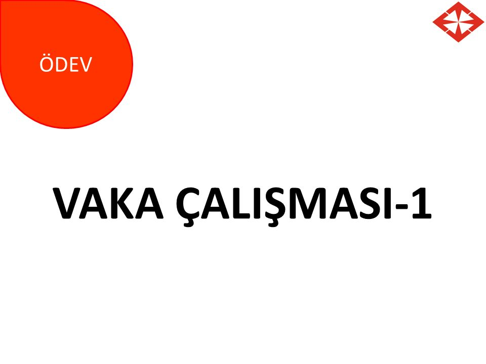 ÖDEV VAKA ÇALIŞMASI-1