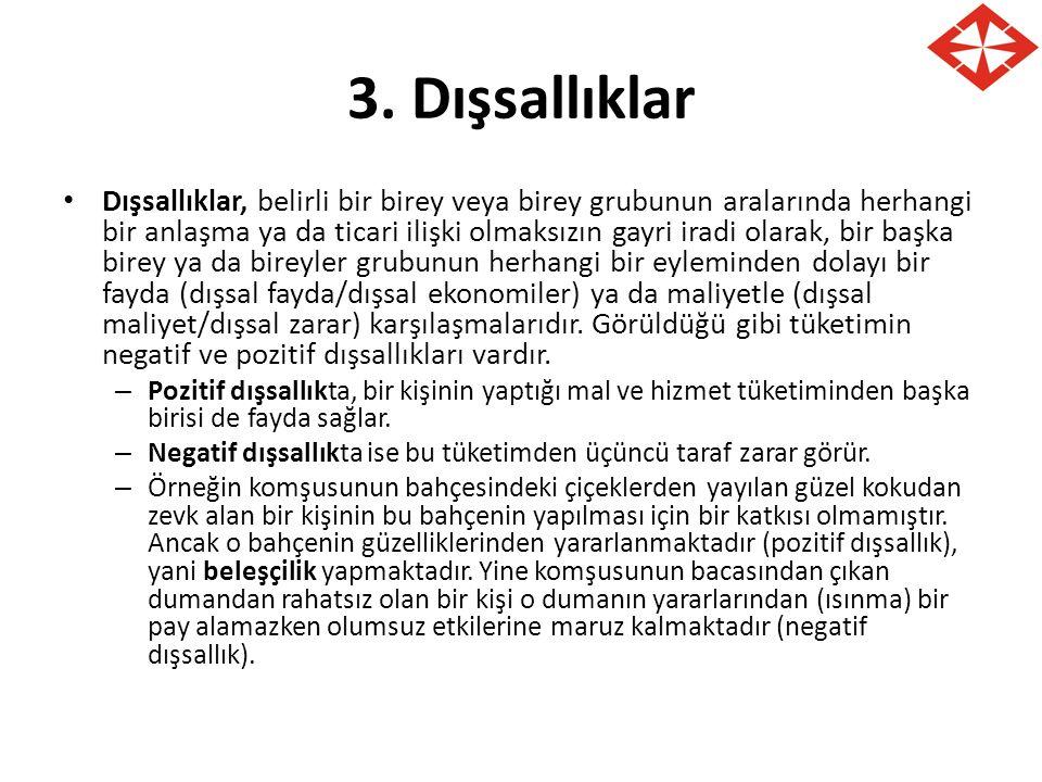 3. Dışsallıklar