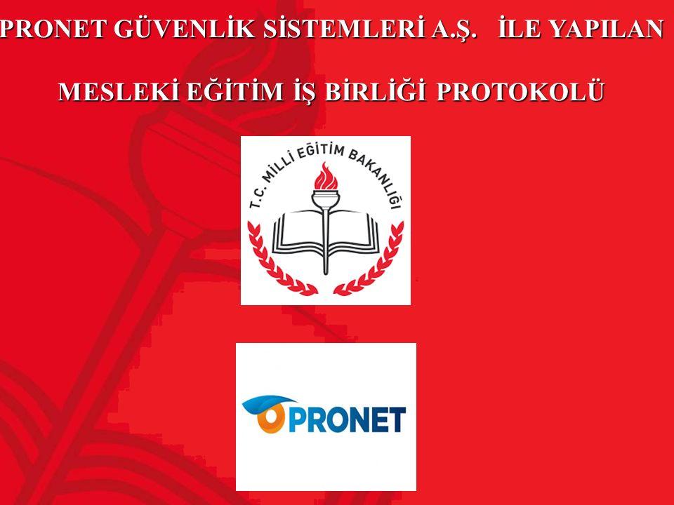 PRONET GÜVENLİK SİSTEMLERİ A. Ş
