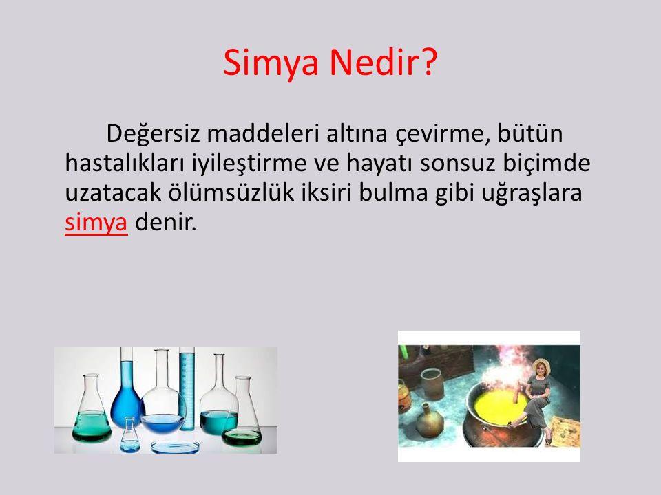 Simya Nedir