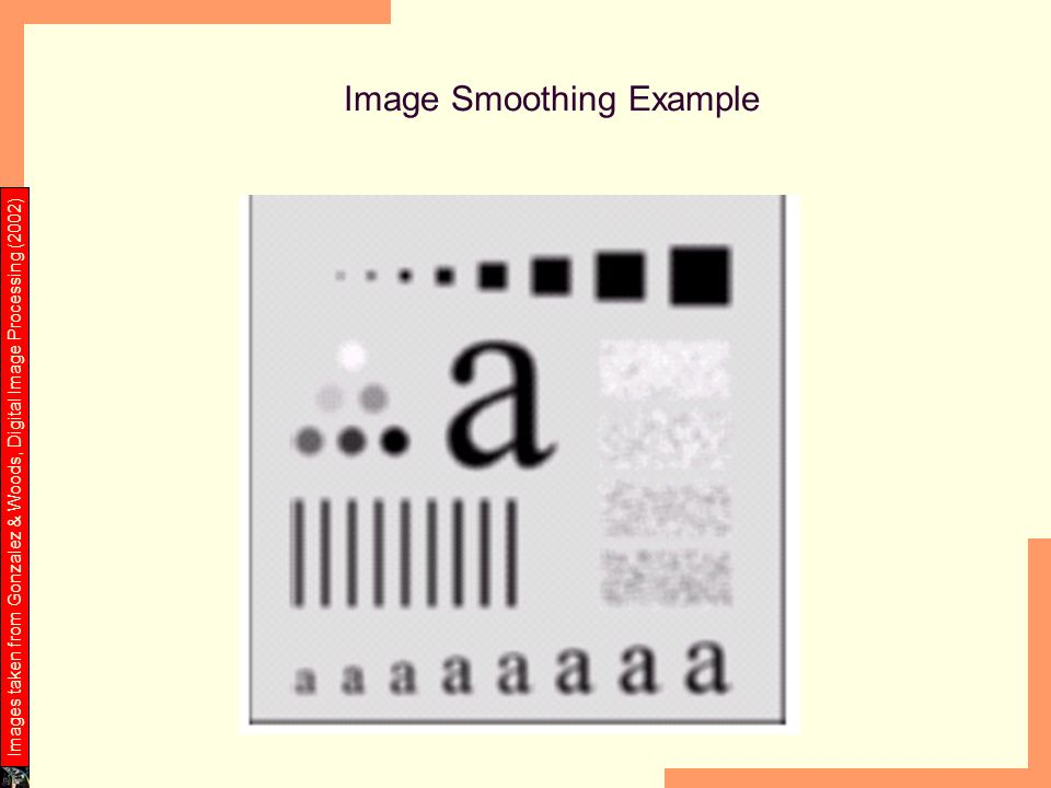 Image Smoothing Example