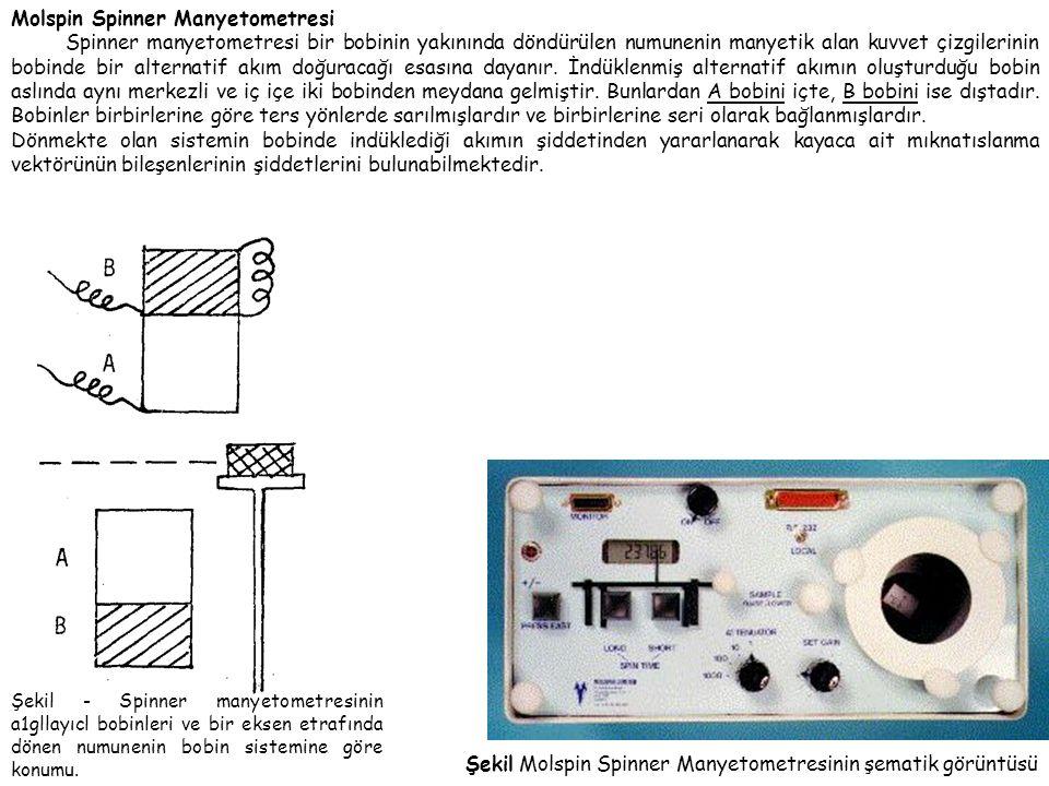 Molspin Spinner Manyetometresi
