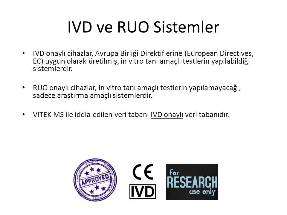 IVD ve RUO Sistemler