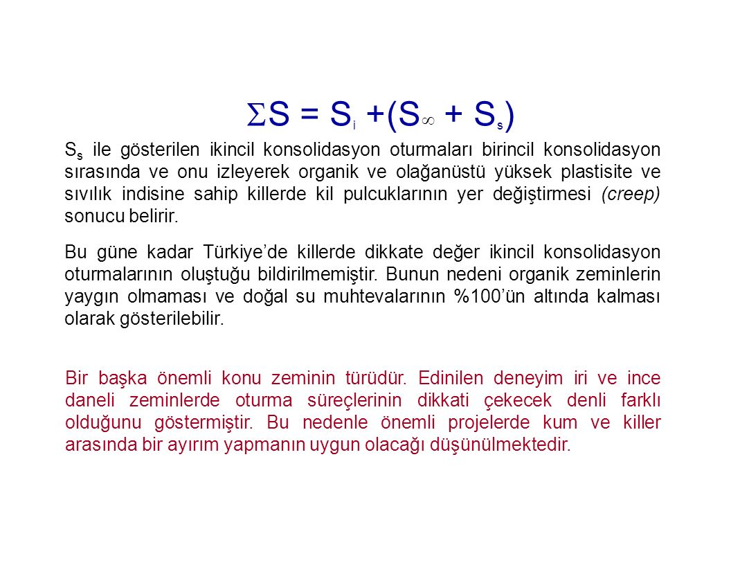 S = Si +(S + Ss)