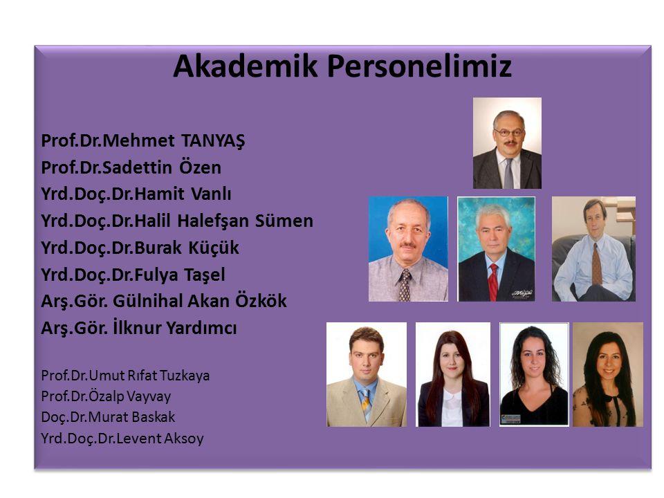 Akademik Personelimiz
