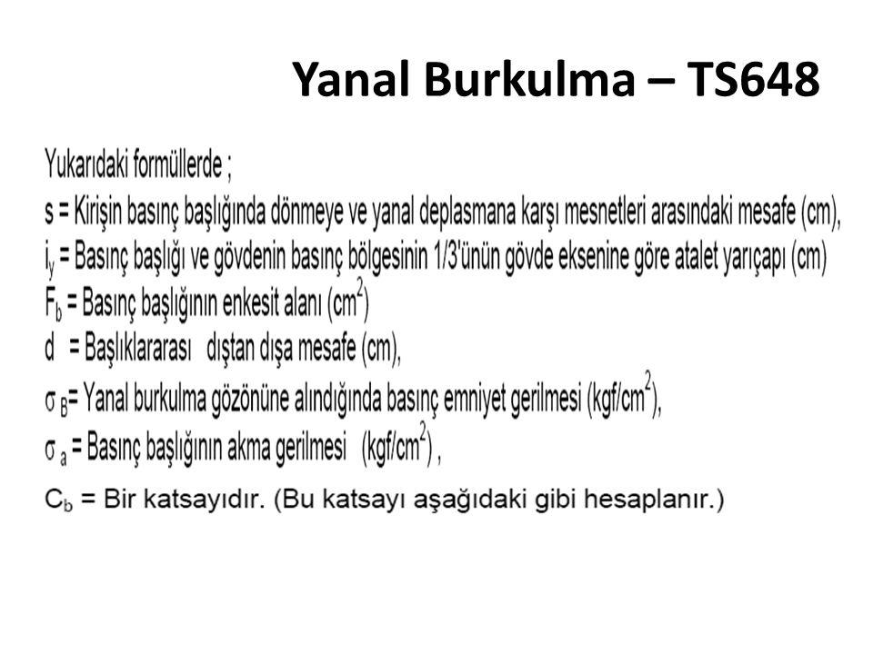 Yanal Burkulma – TS648
