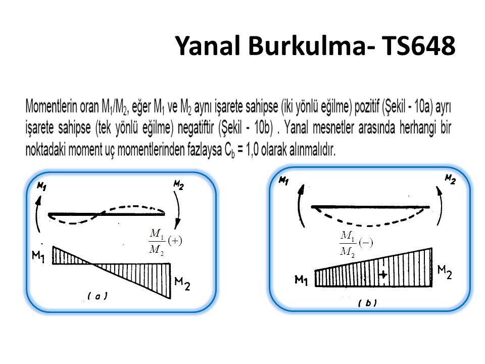 Yanal Burkulma- TS648