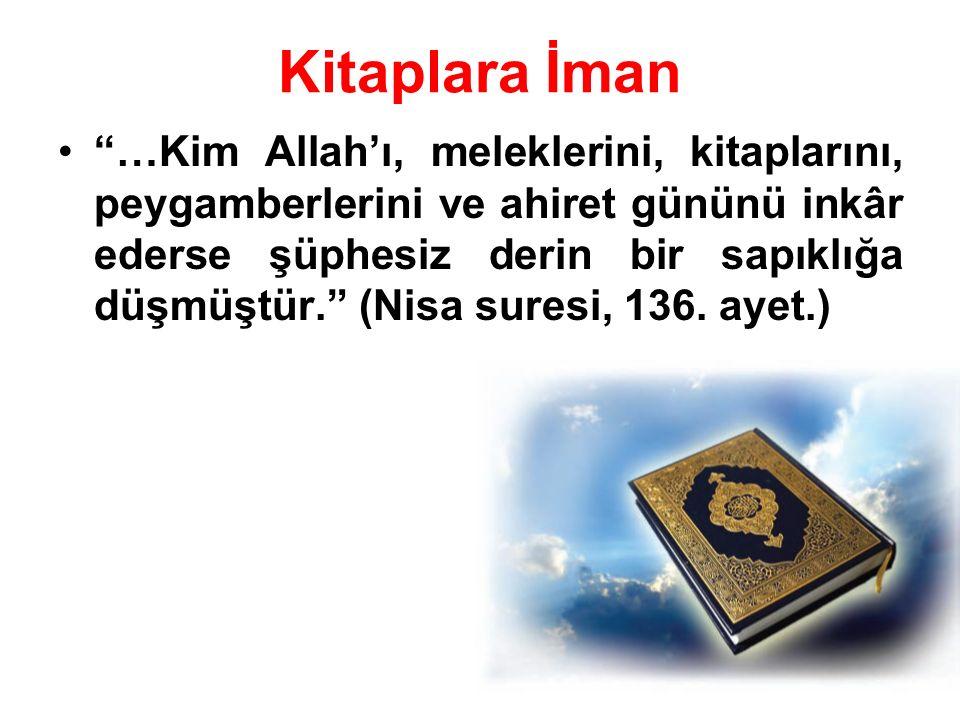 Kitaplara İman