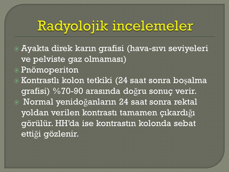 Radyolojik incelemeler