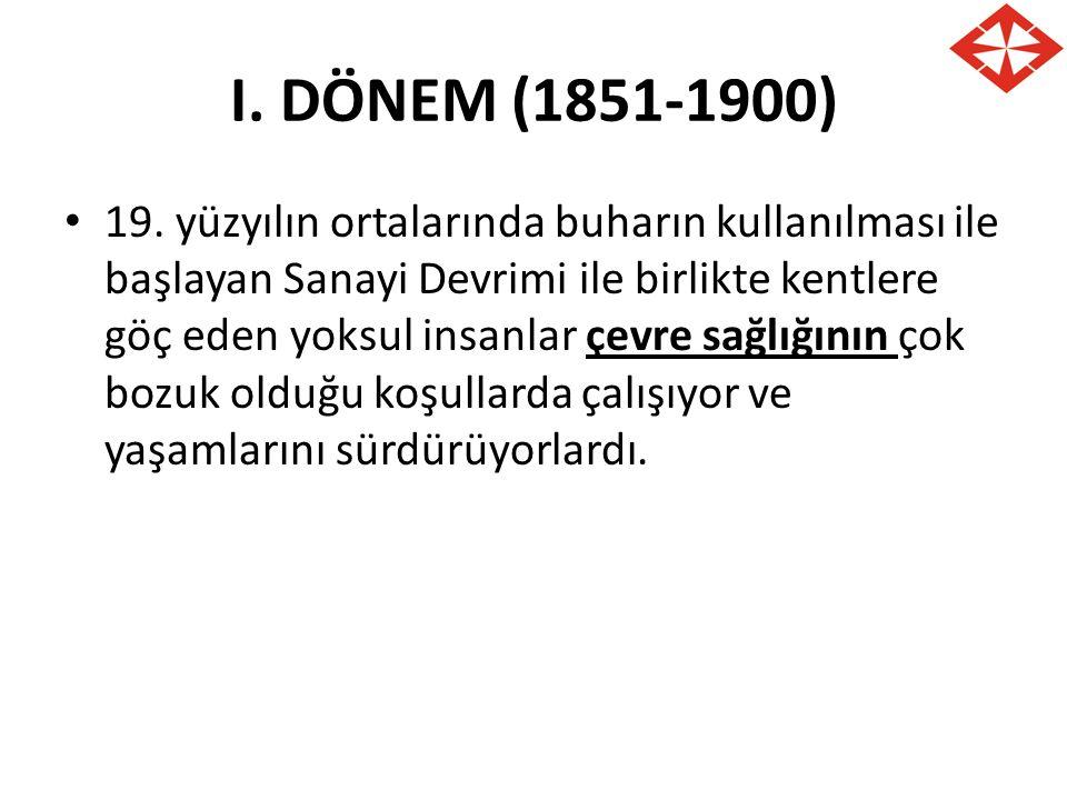 I. DÖNEM (1851-1900)